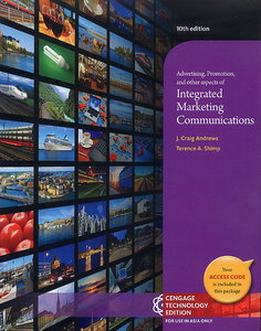 Advertising,Promotion,and Other Aspects of Integrated Marketing Communications+ Supplement, 10/e (IE-Paperback)-cover