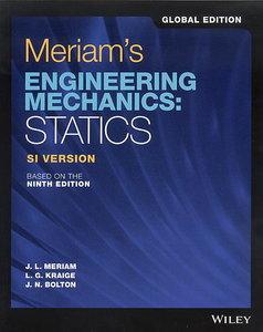 Meriam`s Engineering Mechanics: Statics ,9/e (SI Global Edition)-cover