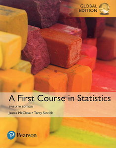 A First Course in Statistics, 12/e (IE-Paperback)-cover