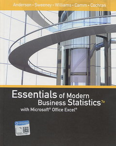 Essentials of Modern Business Statistics with Microsoft Office Excel, 7/e【內含Access code,經拆封不受退】-cover
