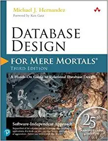 Database Design for Mere Mortals: 25th Anniversary Edition-cover