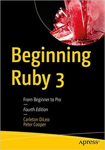 Beginning Ruby 3: From Beginner to Pro-cover