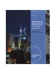 Multinational Management: A Strategic Approach, 6/e-cover