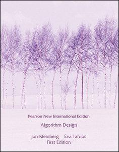 Algorithm Design (NIE-Paperback)-cover