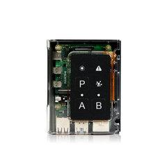 預裝樹莓派第四代 (4G 記憶體)+ 模組化外殼(全球首創磁性連接器,附便利按鈕、LED燈) - hubor Xpress 4Bx Case with Pre-installed Raspberry Pi 4 Model B(4G RAM)-cover