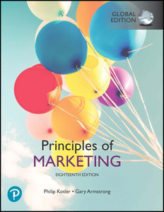 Principles of Marketing, 18/e (GE-Paperback)-cover