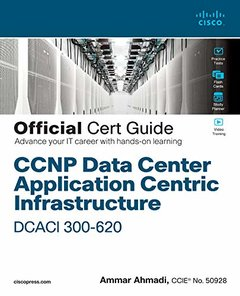 CCNP Data Center Application Centric Infrastructure 300-620 Dcaci Official Cert Guide-cover