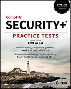 Comptia Security+ Practice Tests: Exam Sy0-601-cover