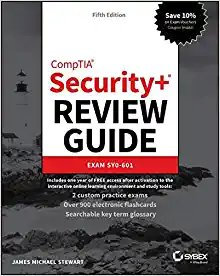 Comptia Security+ Review Guide: Exam Sy0-601-cover