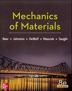 Mechanics of Materials, 8/e (SI Units)(IE-Paperback)-cover