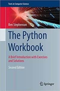 The Python Workbook: A Brief Introduction with Exercises and Solutions, 2/e (Hardcover)-cover