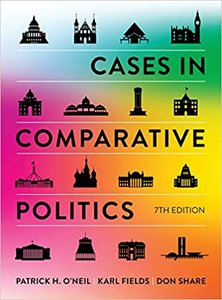 Cases in Comparative Politics, 7/e (Paperback)-cover
