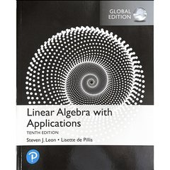 Linear Algebra : with Applications, 10/e (IE-Paperback) -cover