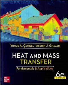 Heat and Mass Transfer: Fundamentals and Applications, 6/e (SI Units)(Paperback)-cover