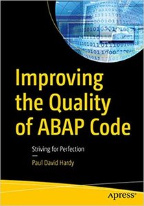Improving the Quality of ABAP Code: Striving for Perfection-cover