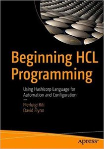 Beginning Hcl Programming: Using Hashicorp Language for Automation and Configuration-cover