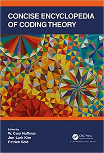 Concise Encyclopedia of Coding Theory-cover