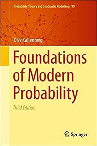 Foundations of Modern Probability-cover