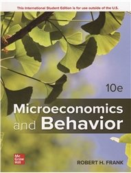 Microeconomics and Behavior, 10/e (Paperback)