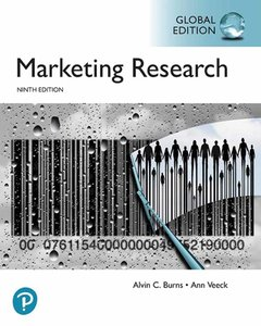Marketing Research, 9/e (GE-Paperback) -cover