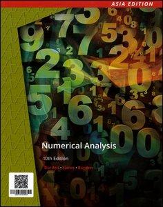 Numerical Analysis, 10/e (AE-Paperback)-cover