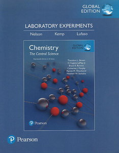 Laboratory Experiments for Chemistry: The Central Science, 14/e (SI Edition)(Paperback)