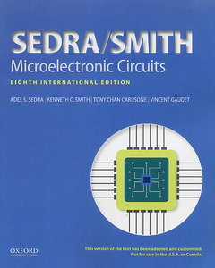 Microelectronic Circuits, 8/e (Paperback)-cover