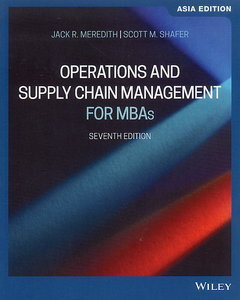 Operations and Supply Chain Management for MBAs, 7/e (AE-Paperback)-cover