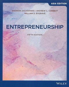 Entrepreneurship, 5/e (AE-Paperback)-cover