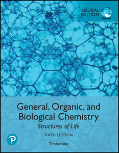 General, Organic, and Biological Chemistry: Structures of Life, 6/e (GE-Paperback)-cover