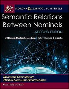 Semantic Relations Between Nominals, Second Edition-cover