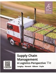 Supply Chain Management: A Logistics Perspective, 11/e (AE-Paperback)-cover