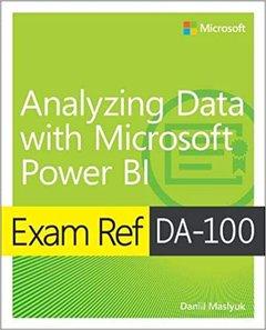 Exam Ref Da-100 Analyzing Data with Microsoft Power Bi-cover