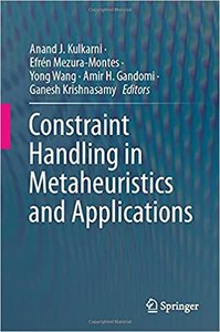 Constraint Handling in Metaheuristics and Applications-cover