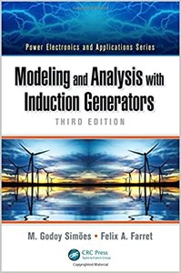 Modeling and Analysis with Induction Generators-cover