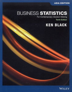 Business Statistics : For Contemporary Decision Making, 10/e (AE-Paperback)-cover