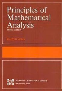 Principles of Mathematical Analysis, 3/e (Paperback)-cover