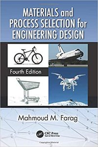 Materials and Process Selection for Engineering Design-cover