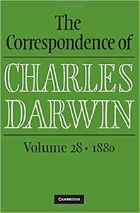 The Correspondence of Charles Darwin: Volume 28, 1880-cover