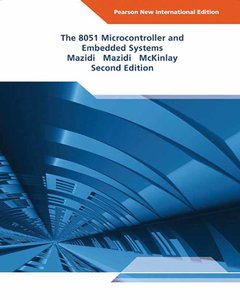 The 8051 Microcontroller and Embedded Systems, 2/e (NIE-Paperback)-cover
