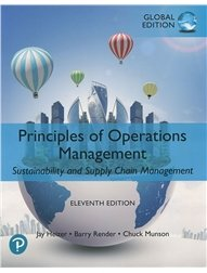 Principles of Operations Management: Sustainability and Supply Chain Management, 11/e (GE-Paperback)-cover