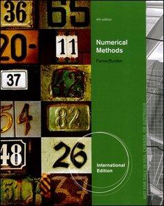 Numerical Methods, 4/e (IE-Paperback)-cover