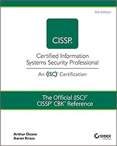 The Official (Isc)2 Cissp Cbk Reference 6th -cover