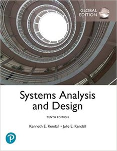 Systems Analysis and Design Global Ed ,10th-cover